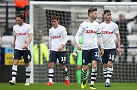 Preston North End's players look dejected<br /> <br /> Photographer Mick Walker/CameraSport<br /> <br /> The EFL Sky Bet Championship - Preston North End v Bristol City - Saturday 2nd March 2019 - Deepdale Stadium - Preston<br /> <br /> World Copyright © 2019 CameraSport. All rights reserved. 43 Linden Ave. Countesthorpe. Leicester. England. LE8 5PG - Tel: +44 (0) 116 277 4147 - admin@camerasport.com - www.camerasport.com