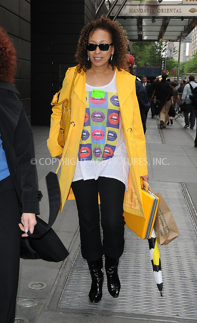 WWW.ACEPIXS.COM . . . . .  ....May 14 2012, New York City....Tamara Tunie leaving a midtown hotel on May 14 2012 in New York City....Please byline: CURTIS MEANS - ACE PICTURES.... *** ***..Ace Pictures, Inc:  ..Philip Vaughan (212) 243-8787 or (646) 769 0430..e-mail: info@acepixs.com..web: http://www.acepixs.com