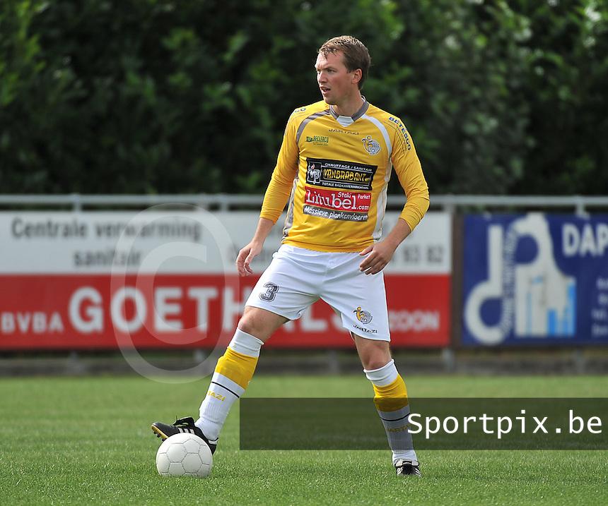 SC Wielsbeke : Brecht Vervaeck<br /> foto VDB / Bart Vandenbroucke