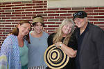 """Heather Mac Rae daughter of singer Gordon Mac Rae poses with castmates Dale Soules and Louise Sorel (Days of Our Lives & Santa Barbara) as they star in """"I Remember Mama"""" and poses with friend Rick McKay on June 23, 2016 at Two River Theatre, Red Bank, New Jersey which follows a successful sold out run in New York City, New York and poses with Vikki Thompson. (Photo by Sue Coflin/Max Photos)"""