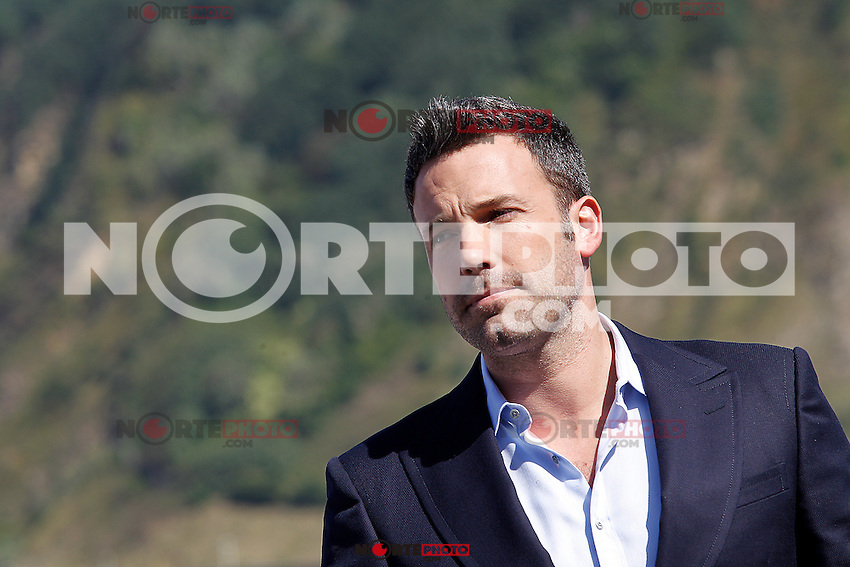 Film Director Ben Affleck attends the photocall of 'Argo' during the 60th San Sebastian Donostia International Film Festival - Zinemaldia.September 22,2012.(ALTERPHOTOS/ALFAQUI/Acero) /NortePhoto<br />