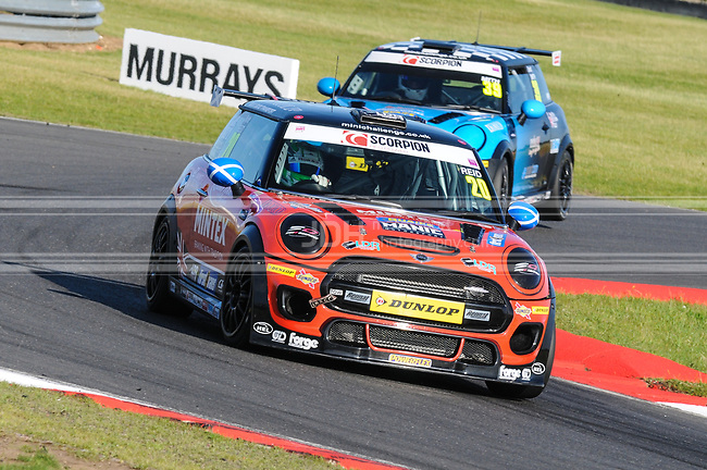 Kyle Reid - Lawrence Davey Racing Mini F56 JCW