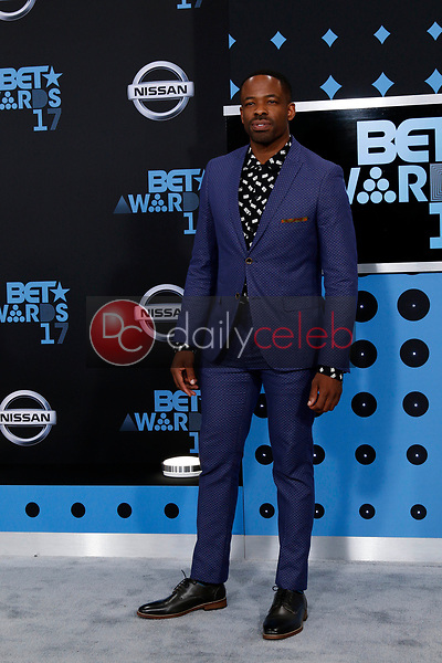Chike Okonkwo<br /> at the BET Awards 2017, Microsoft Theater, Los Angeles, CA 06-25-17<br /> David Edwards/DailyCeleb.com 818-249-4998