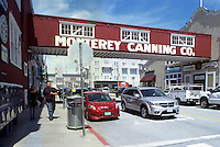 "Shops and Restaurants along ""Cannery Row"", in the City of Monterey, California, USA"