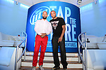 MIAMI BEACH, FL - JULY 08: Kenny Burns and DJ E Feezy attends Miller Light Tap The Future Event at Nikki Beach on Tuesday July 8, 2014 in Miami Beach, Florida. (Photo by Johnny Louis/jlnphotography.com)