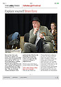 Peter Eyre, rehearsal, Minetti, The Times, 18.08.14
