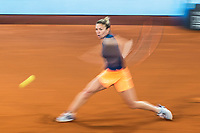 Madrid Open tennis in Madrid. Simona Halep - Anastasija Sevastova