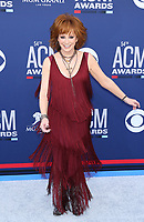 07 April 2019 - Las Vegas, NV - Reba McEntire. 54th Annual ACM Awards Arrivals at MGM Grand Garden Arena. Photo Credit: MJT/AdMedia<br /> CAP/ADM/MJT<br /> &copy; MJT/ADM/Capital Pictures
