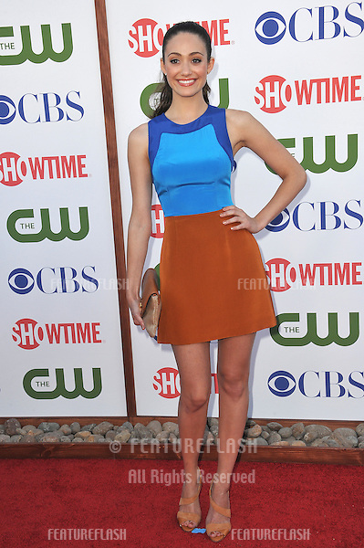 Emmy Rossum, star of Shameless, at the CBS Summer 2011 TCA Party at The Pagoda, Beverly Hills..August 3, 2011  Los Angeles, CA.Picture: Paul Smith / Featureflash