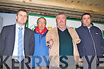 John Stack, Denis Griffin, John Dunworth Teagus and James Kelleher who made presentations at the IFA senimar in Castleisland Mart on Thursday evening..