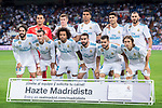 Players of Real Madrid line up and pose for a photo prior to the La Liga 2017-18 match between Real Madrid and Valencia CF at the Estadio Santiago Bernabeu on 27 August 2017 in Madrid, Spain. Photo by Diego Gonzalez / Power Sport Images
