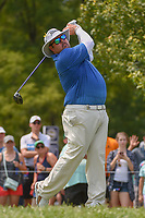 Ben Kern (USA) watches his tee shot on 12 during 4th round of the 100th PGA Championship at Bellerive Country Club, St. Louis, Missouri. 8/12/2018.<br /> Picture: Golffile   Ken Murray<br /> <br /> All photo usage must carry mandatory copyright credit (© Golffile   Ken Murray)
