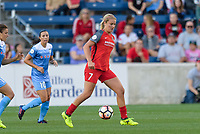 Bridgeview, IL - Saturday August 12, 2017: Lindsey Horan during a regular season National Women's Soccer League (NWSL) match between the Chicago Red Stars and the Portland Thorns FC at Toyota Park. Portland won 3-2.