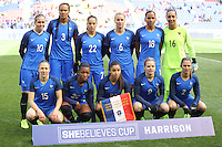 HARRISON, NJ, 04.03.2017 - FRANÇA-ALEMANHA - jogadoras da França durante partida contra a Alemanha valido pelo 2017 She Believes Cup na cidade de Harrison em New Jersey neste sábado, 4.(Foto: Vanessa Carvalho/Brazil Photo Press/Brazil Photo Press)