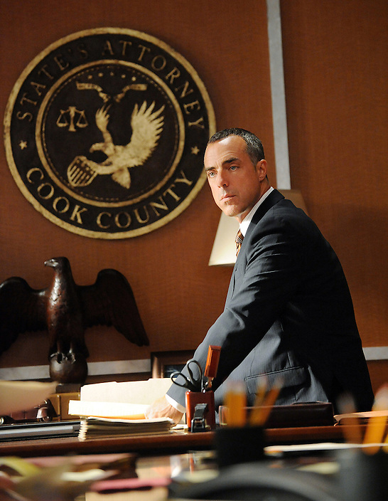 """Taking Control""--Torn between her passion for Will and her marriage to Peter, Alicia is forced to make her choice.  Meanwhile, she is still at odds with StateÕs Attorney Glenn Childs (Titus Welliver), on the season 2 premiere of THE GOOD WIFE, Tuesday, Sept. 28 (10:00-11:00 PM, ET/PT) on the CBS Television Network. Photo: David M. Russell/CBS ©2010 CBS Broadcasting Inc. All Rights Reserved."