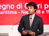 NAPOLI XXVIII CONVEGNO GIOVANI INDUSTRIALI<br /> NELLA FOTO JACOPO MORELLI<br /> FOTO CIRO DE LUCA