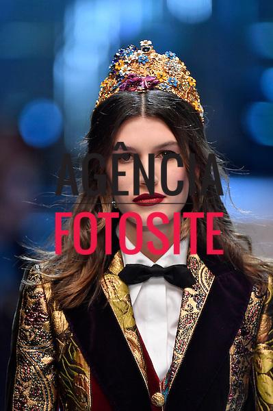 Dolce Gabbana<br /> <br /> Milao - Inverno 2017<br /> <br /> Fevereiro 2017<br /> <br /> foto: FOTOSITE