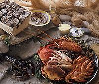 Gastronomie Générale: Plateau de Fruits de mer