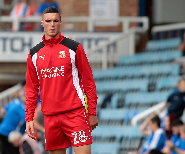 Swindon Town's Lloyd Jones during the pre-match warm-up <br /> <br /> Photographer David Shipman/CameraSport<br /> <br /> The EFL Sky Bet League One - Peterborough v Swindon Town - Saturday 3 September 2016 -  ABAX Stadium - Peterborough<br /> <br /> World Copyright &copy; 2016 CameraSport. All rights reserved. 43 Linden Ave. Countesthorpe. Leicester. England. LE8 5PG - Tel: +44 (0) 116 277 4147 - admin@camerasport.com - www.camerasport.com