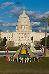 Washington D. C., Captiol Building, blue sky, Camp Alex, not released