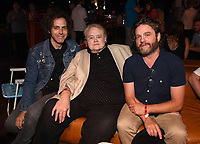 """LOS ANGELES - SEPTEMBER 4: Executive Producer/Director Jonathan Krisel, Louie Anderson and Zach Galifianakis attend  the series finale event for FX's """"Baskets"""" at Neuehouse Hollywood on September 4, 2019 in Los Angeles, California. (Photo by Frank Micelotta/FX/PictureGroup)"""