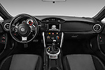 Stock photo of straight dashboard view of 2017 Toyota 86 Automatic 2 Door Coupe Dashboard