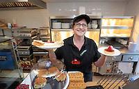 Manager Tina Cheesman at the newly refurbished cafe