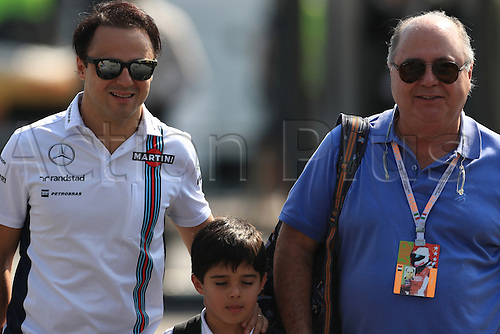 01.09.2016. Monza, Italy. Formula 1 Grand prix of Italy, driver arrival and press conference day.  Williams Martini Racing – Felipe Massa