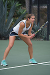 April 22, 2015; San Diego, CA, USA; Loyola Marymount Lions tennis player Lisa Piller during the WCC Tennis Championships at Barnes Tennis Center.