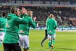 08.03.2019, Weser Stadion, Bremen, GER, 1.FBL, Werder Bremen vs FC Schalke 04, <br /> <br /> DFL REGULATIONS PROHIBIT ANY USE OF PHOTOGRAPHS AS IMAGE SEQUENCES AND/OR QUASI-VIDEO.<br /> <br />  im Bild<br /> <br /> Fin Bartels (Werder Bremen #22) is back  bei der Begruessung vor dem Spiel<br /> <br /> Foto &copy; nordphoto / Kokenge