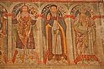 Chiesa parrocchiale dei Santi Pietro e Paolo 16th century frescoes; Ascona, Switzerland on Lake Maggiore