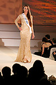 """Miss Estonia Birgit Konsin, November 11, 2014, Tokyo, Japan : Miss Estonia Birgit Konsin walks down the runway during """"The 54th Miss International Beauty Pageant 2014"""" on November 11, 2014 in Tokyo, Japan. The pageant brings women from more than 65 countries and regions to Japan to become new """"Beauty goodwill ambassadors"""" and also donates money to underprivileged children around the world thought their """"Mis International Fund"""". (Photo by Rodrigo Reyes Marin/AFLO)"""