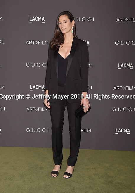 LOS ANGELES, CA - OCTOBER 29: ForYourArt founder Bettina Korek attends the 2016 LACMA Art + Film Gala honoring Robert Irwin and Kathryn Bigelow presented by Gucci at LACMA on October 29, 2016 in Los Angeles, California.
