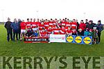 The victorious Dingle team who captured the Dermot Earley Cup having defeated Portdarlington in the senior football final in the Lidl Comórtas Peile Páidi Ó Sé 2019 in Gallarus on Sunday.