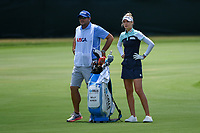Nelly Korda (USA) looks over her approach shot on 4 during round 3 of the 2019 US Women's Open, Charleston Country Club, Charleston, South Carolina,  USA. 6/1/2019.<br /> Picture: Golffile | Ken Murray<br /> <br /> All photo usage must carry mandatory copyright credit (© Golffile | Ken Murray)