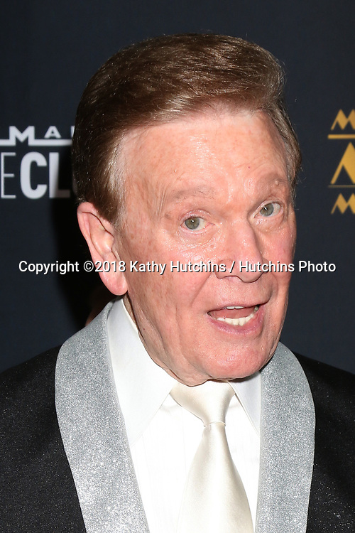 LOS ANGELES - FEB 2:  Wink Martindale at the 26th MovieGuide Awards at the Universal Hilton Hotel on February 2, 2018 in Universal City, CA