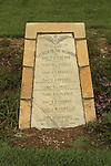 Israel, Negev, the British War Cemetery in Be'er Sheva, a Turkish memorial to British pilots