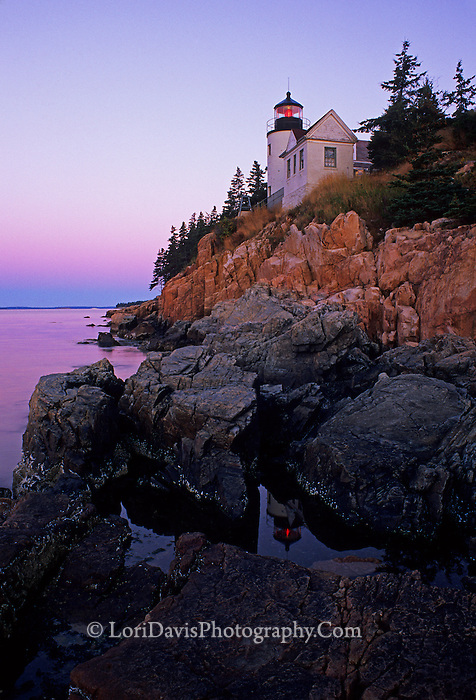 Bass Harbor Head Light  #LH2