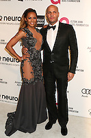 WEST HOLLYWOOD, CA - MARCH 2: Melanie Brown, Stephen Belafonte attending the 22nd Annual Elton John AIDS Foundation Academy Awards Viewing/After Party in West Hollywood, California on March 2nd, 2014. Photo Credit: SP1/Starlitepics. /NORTePHOTO