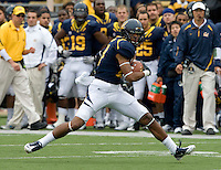 Keenan Allen of California in action during the game against ASU at Memorial Stadium in Berkeley, California on October 23rd, 2010.  California defeated Arizona State, 50-17.