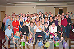 Party Fans: Fred Browne,spa Rd,Tralee(seated centre)had a cracker at his 60th birthday party in the Kerin's O'Rahilly's GAA clubhouse,Tralee last Saturday night surrounded by family and friend's.