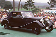 August 26th, 1984. 1935 Bugatti Type 57 James Young Drophead Coupe.