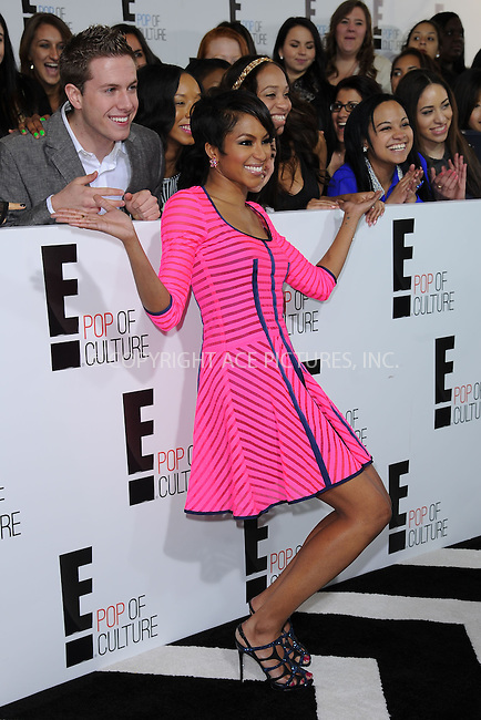 WWW.ACEPIXS.COM . . . . . .April 22, 2013...New York City....Alicia Quarles .attends the E! 2013 Upfront at The Grand Ballroom at Manhattan Center on April 22, 2013in New York City.....Please byline: KRISTIN CALLAHAN - WWW.ACEPIXS.COM.. . . . . . ..Ace Pictures, Inc: ..tel: (212) 243 8787 or (646) 769 0430..e-mail: info@acepixs.com..web: http://www.acepixs.com .