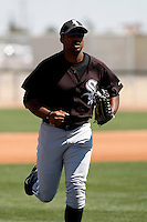 Maurice Gartrell -  Chicago White Sox - 2009 spring training.Photo by:  Bill Mitchell/Four Seam Images