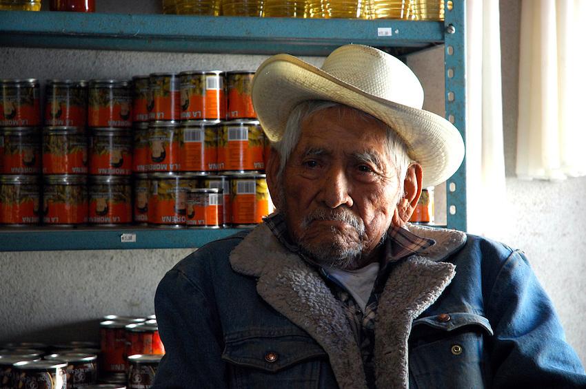 """..""""A tienda owner in Santa Ana del Valle"""""""