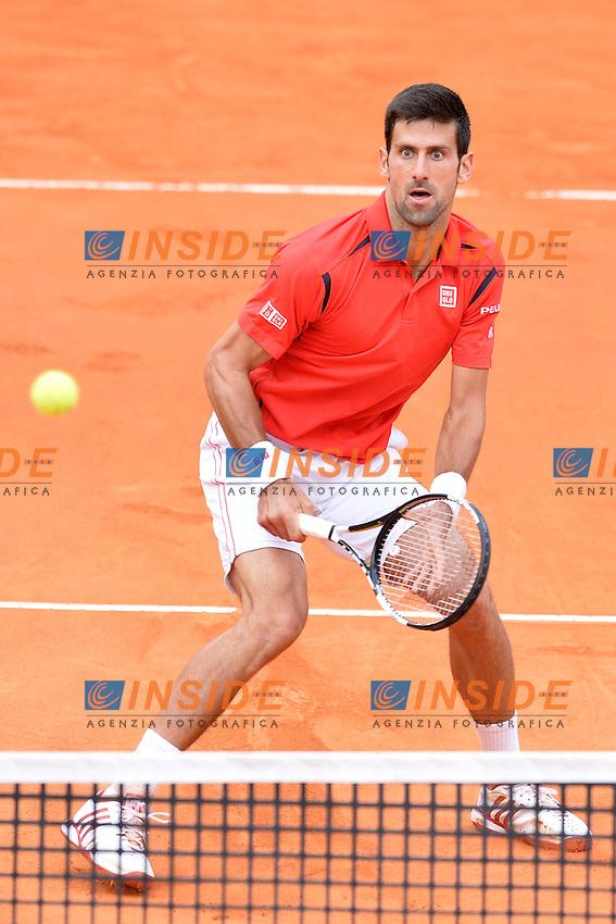 Novak Djokovic (SRB)<br /> Roma 13-05-2016  Foro Italico<br /> Internazionali BNL d'Italia, <br /> Tennis ATP<br /> Foto Antonietta Baldassarre / Insidefoto