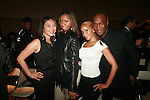 Mairie Raxakoul, Lia Hall, Richelle, Carl Nelson attend Adrian Alicea Haute Couture Show Held at The National Black Theater