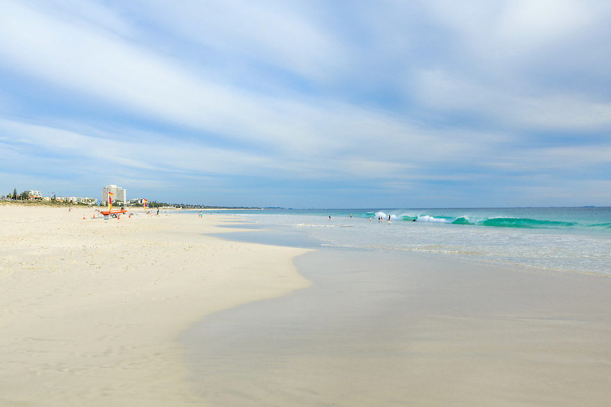 Scarborough Beach. Perth. Western Australia.