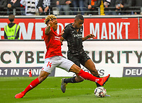 Gelson Fernandes (Eintracht Frankfurt) gegen Pierre Kunde Malong (1. FSV Mainz 05) - 12.05.2019: Eintracht Frankfurt vs. 1. FSV Mainz 05, 33. Spieltag Bundesliga, Commerzbank Arena, DISCLAIMER: DFL regulations prohibit any use of photographs as image sequences and/or quasi-video.