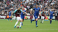 West Ham United's Marko Arnautovic scores his side's second goal <br /> <br /> Photographer Rob Newell/CameraSport<br /> <br /> The Premier League - West Ham United v Everton - Sunday 13th May 2018 - London Stadium - London<br /> <br /> World Copyright &copy; 2018 CameraSport. All rights reserved. 43 Linden Ave. Countesthorpe. Leicester. England. LE8 5PG - Tel: +44 (0) 116 277 4147 - admin@camerasport.com - www.camerasport.com